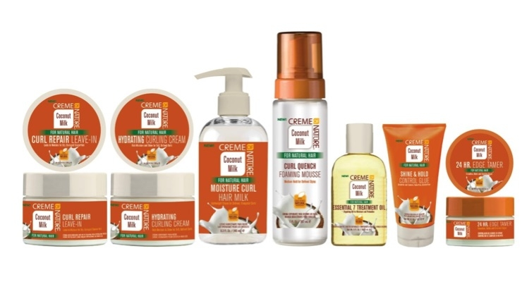 Creme of Nature Goes Coconuts for New Styling Collection