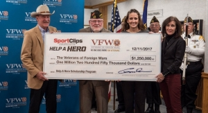 Sport Clips Haircuts & Partners Donate to Vets