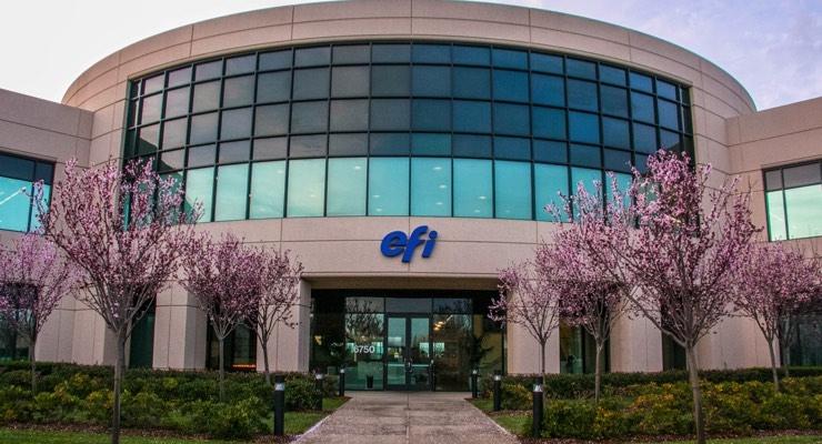 George P. Johnson Invests in EFI VUTEk FabriVU Printer