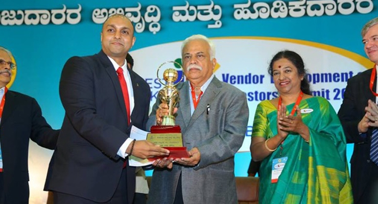 Sabinsa Sami Labs Honored with Three Karnataka State Export Excellence Awards