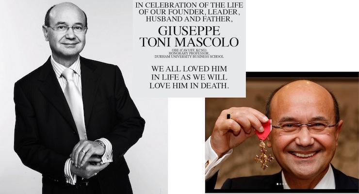 Toni & Guy Co-Founder Toni Mascolo Passes Away