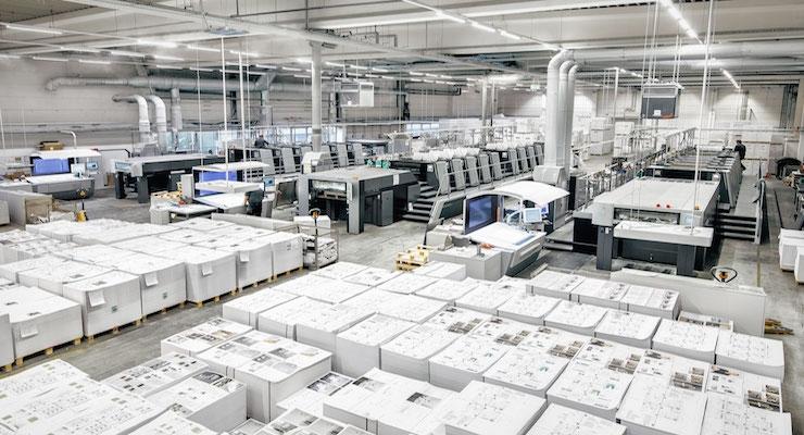 Kunst- und Werbedruck Invests €9 Million in Heidelberg Machines