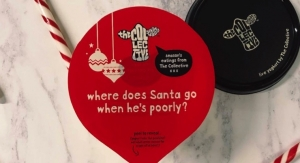 Printed yogurt lids bring dollop of Christmas cheer