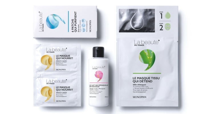 Monoprix Taps Brandimage to Design the Packaging for its New Skin Care Line