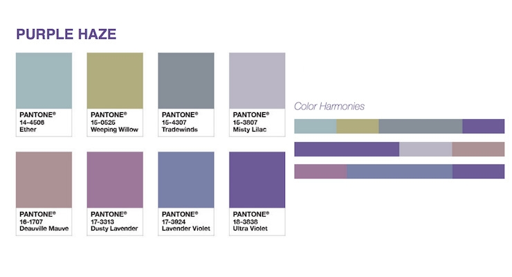 Ultra Violet Color Palettes To Inspire Package Designers