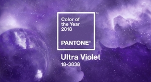 Pantone's Color of the Year 2018, Ultra-Violet, in Packaging