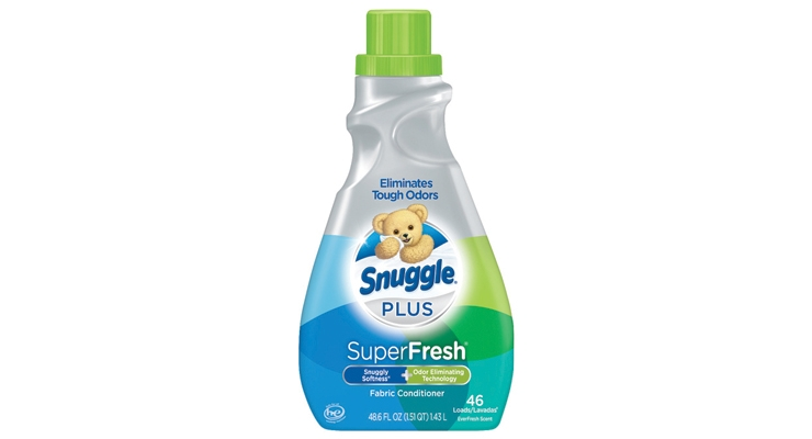 Snuggle Plus taps into the consumer's desire for fresh smelling laundry fresh out of the dryer or out of the dresser.