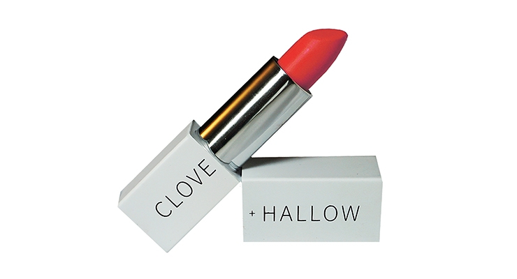Natural lipstick formulations at Clove + Hallow are selling well.