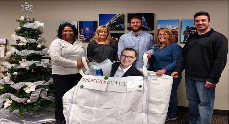 Maroon Group LLC's 'Santa's Super Sack' a Success