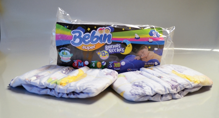 Mexico's Lambi is hoping its overnight night diapers infused with eucalyptus will be a hit with parents in Mexico, Latin America and some U.S. markets.