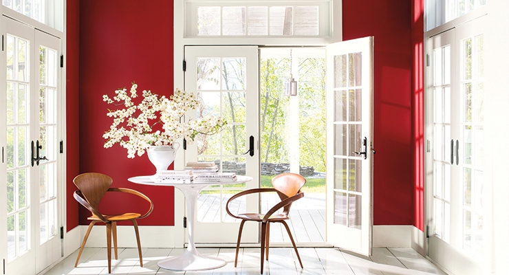 Photo courtesy of Benjamin Moore.