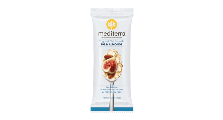 Mediterra's all-natural  nutrition bars are inspired by the Mediterranean diet.