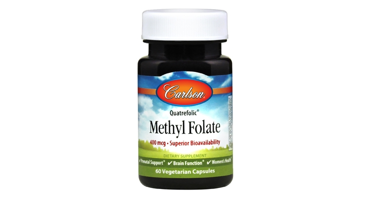 Carlson Debuts Methyl Folate Supplement