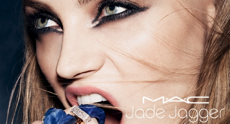 M∙A∙C Taps Jade Jagger for Makeup