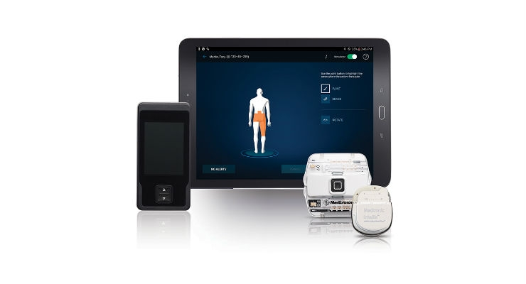 The Intellis implantable neurostimulator is designed to overcome limitations with current SCS systems and is optimized for the increased energy demands of High Dose therapy. Image courtesy of Medtronic plc.