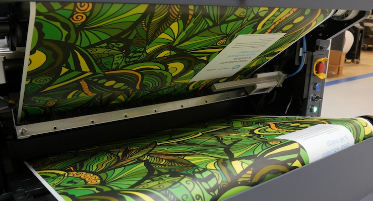 HP Introduces HP Indigo Wallpaper Solution to Transform Wallpaper Market to Digital Printing