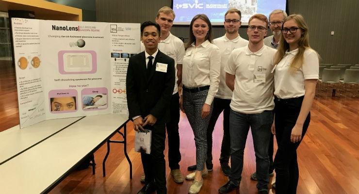 KTU team and Rita Jucevičienė in Silicon Valley.