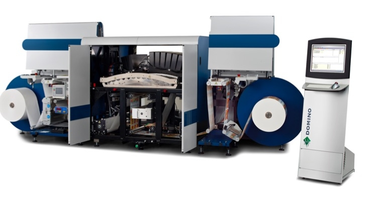 The Domino N610i 7-color digital UV inkjet label press