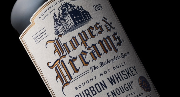 New bourbon launched with label featuring API foil