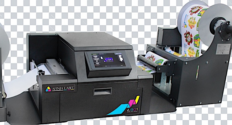 Afinia Label launches new digital color label printer