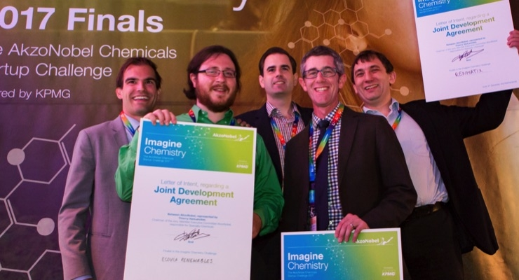 Ecovia took home a top prize at the 2017 Imagine Chemisty Challenge.