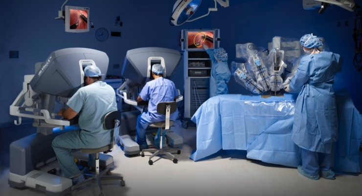 da Vinci Leads the Way in Global Robotic Surgical Market, Data Show