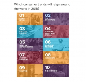 DNA, AR Shape Top 10 Global Consumer Trends for 2018