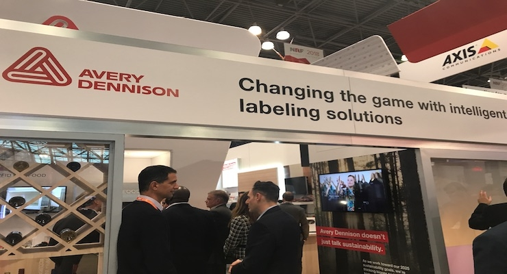 Avery Dennison Highlights Intelligent Label Technology at NRF Expo