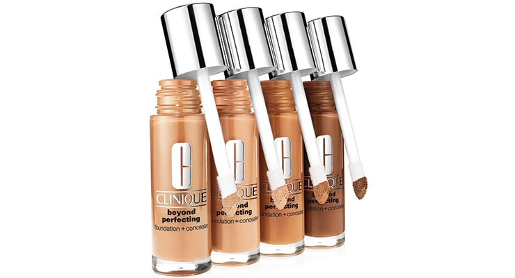 "This 2-in-1 liquid foundation and concealer ""covers everything, yet feels like nothing."" A unique doe foot applicator boasts different types of technique options. Each angle presents a different possibility for getting the desired level of coverage."