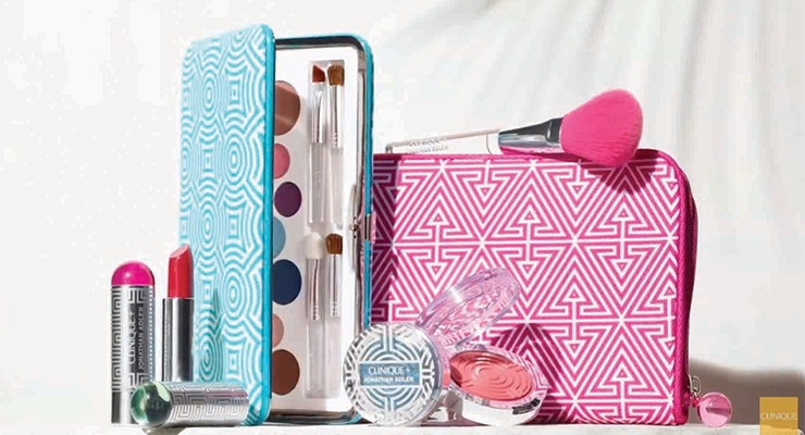 "A collaboration with designer Jonathan Adler resulted in a limited-edition range of color cosmetics, in ""super-Instagrammable"" packaging."