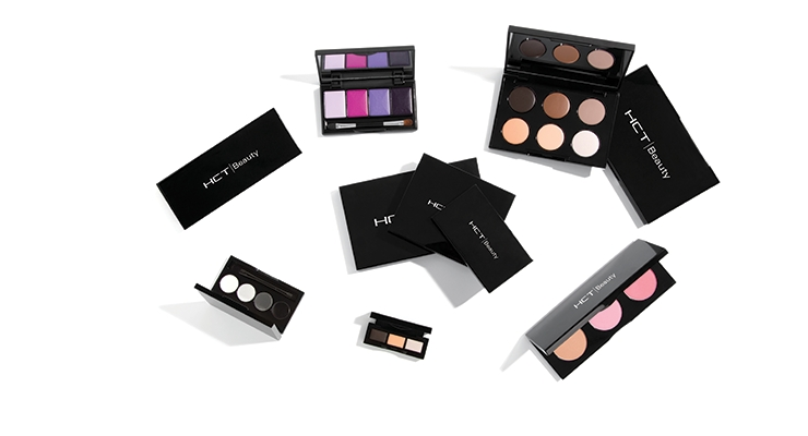 The Bali palette is one of HCT Group's most versatile stock packages, used for eyeshadows, cheek colors, bronzers and baked formulations.