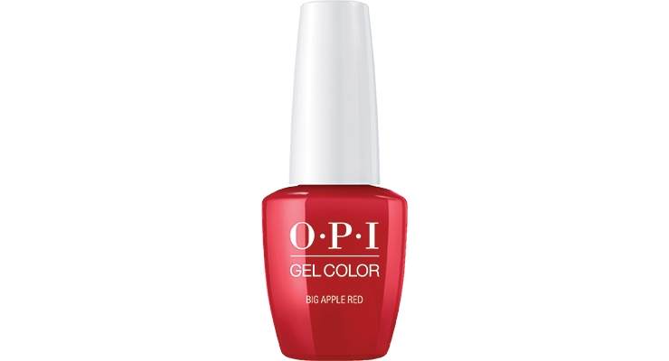 OPI's BIg Apple Red