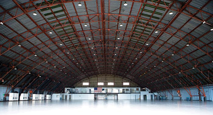 The Barker Hangar will be filled with nearly 130 exhibitors when the co-located shows take over February 7-8.
