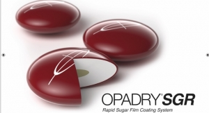 Colorcon Launches Opadry SGR