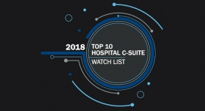 2018 Top 10 Hospital C-Suite Watch List