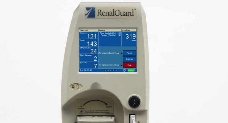 RenalGuard System Demonstrates Promising Results From Studies to Evaluate Heart Failure Technology
