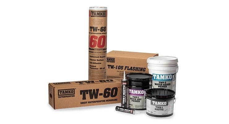 TAMKO Unveils Waterproofing System
