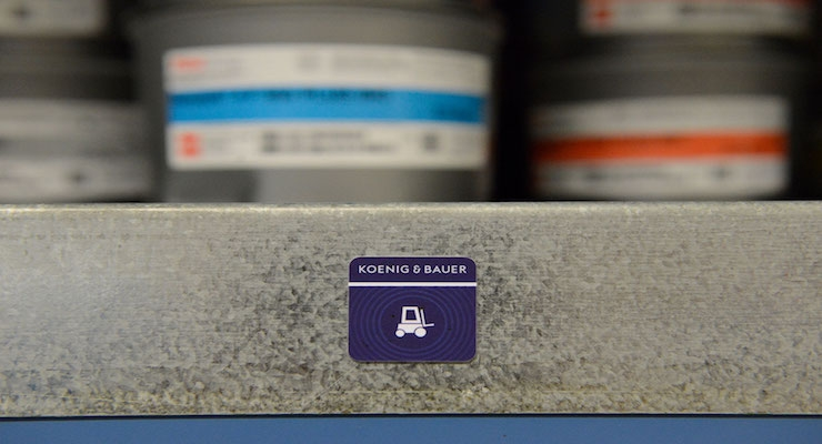 Koenig & Bauer Offers Inventory Management, Batch Tracking Via Smartphone