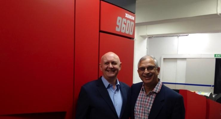 Thomson Press Installs India's First Xeikon 9600