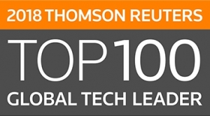 Fujifilm Named to Thomson Reuters 2018 Top 100 Global Technology Leaders