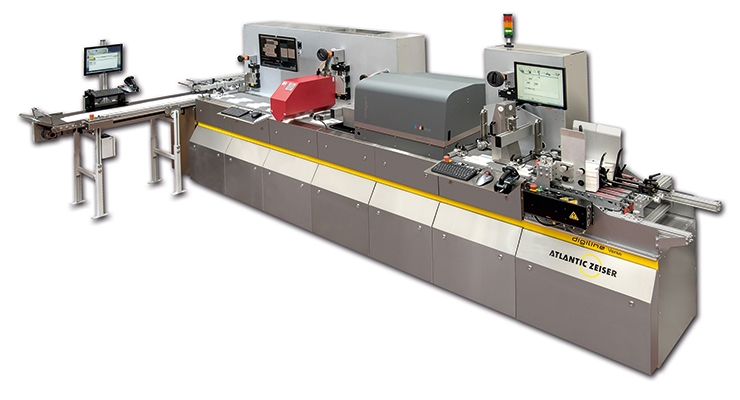 The Digiline Versa enables users to combine serialization and late stage customization for folding cartons.  (Courtesy of Atlantic Zeiser)
