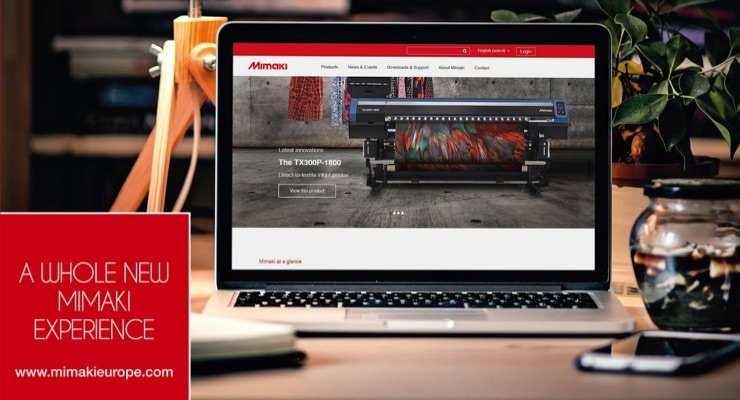 Mimaki Launches New Website
