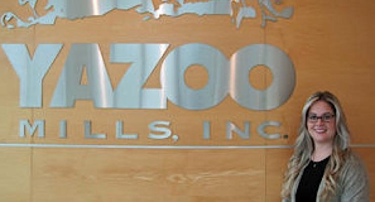 Yazoo Mills promotes Brittany Boozel