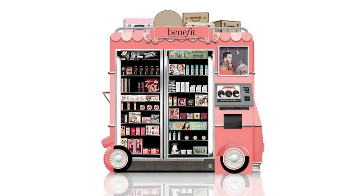 Benefit's Automated Kiosk To Debut in Canada
