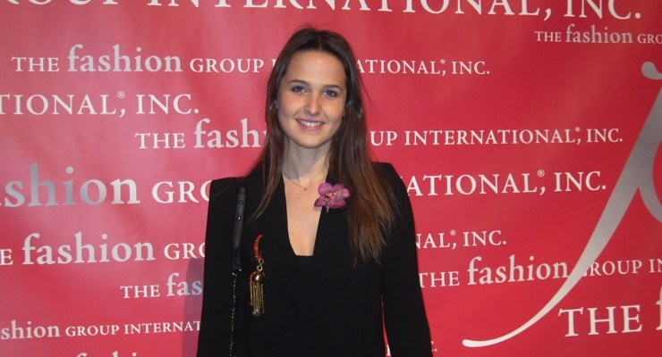 Fanny Bal, winner of the Beauty/Fragrance Corporate Award at FGI