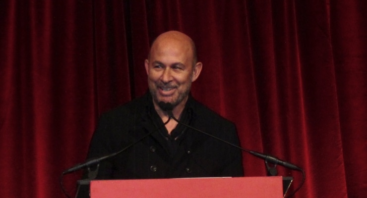 John Varvatos, Keynote Speaker, at FGI