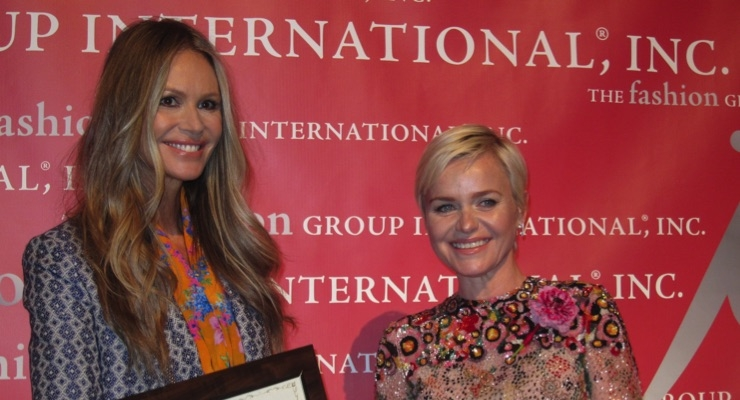 Elle Macpherson, WelleCo, and Dr. Barbara Sturm, Dr. Barbara Sturm Molecular Cosmetics, at FGI