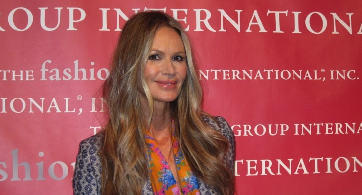 Elle Macpherson, Founder of WelleCo Nutritional Beauty Supplements, at FGI
