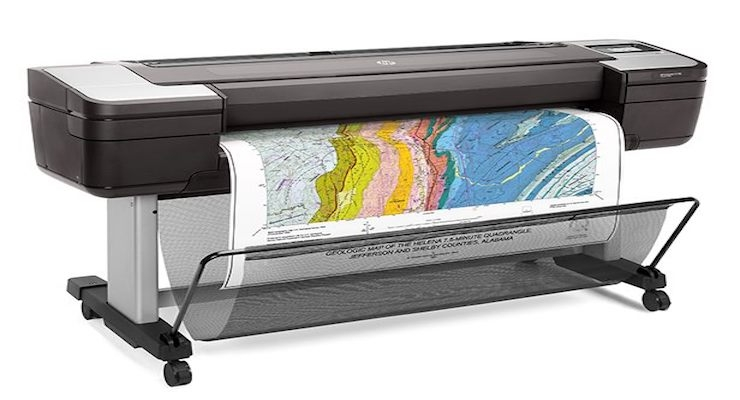 hp launches world s most secure large format printers for gis
