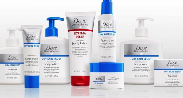 Dove DermaSeries Hits Mass Market Shelves